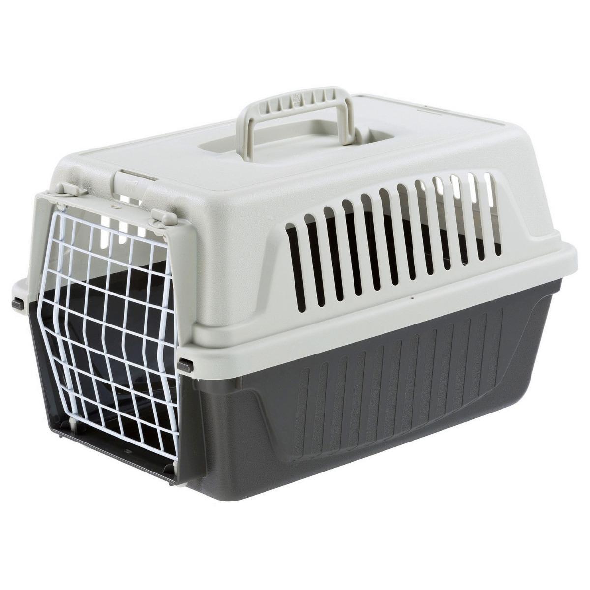 Ferplast Vervoersbox Atlas 5 28x41.5x24.5 cm Kattenvervoersbox Grijs